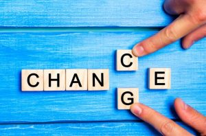 Take a chance on change